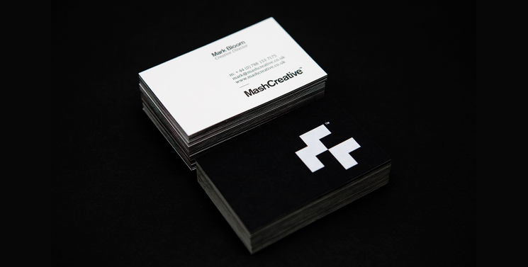 Mash Creative Business Cards