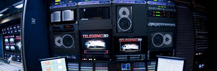 Inside the Telegenic truck